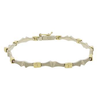 Bicolor Christian bracelet