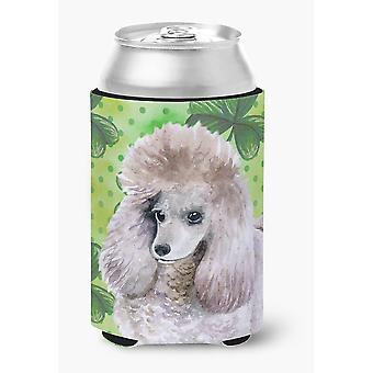 Carolines Treasures  BB9839CC Poodle St Patrick's Can or Bottle Hugger