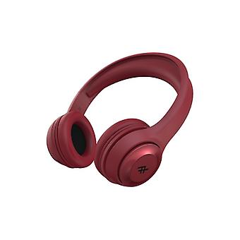 IFROGZ AUDIO AURORA WIRELESS HEADPHONES RED