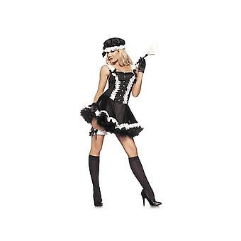 Be Wicked BW887 4-Piece set 5th Avenue Maid womens costume