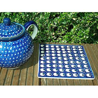 Coasters, 15 x 15 cm, tradition 80 polacco ceramica - BSN 22599