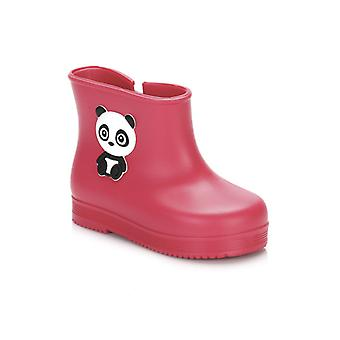 Zaxy Toddlers Pink Baby Bootie Panda Wellies