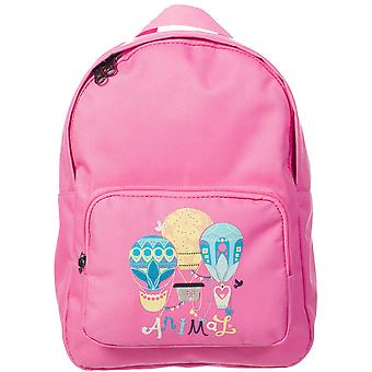 Animal Girls Weela Printed Graphic Backpack LU5SG802 Pink