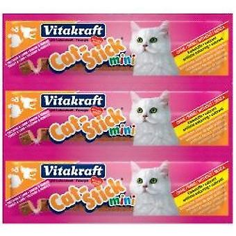 Vitakraft Cat-Stick Mini Turkey & Lamb Cat treat - 20 pack 400g