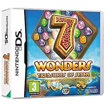 7 Wonders Treasures of Seven (Nintendo DS) - Factory Sealed