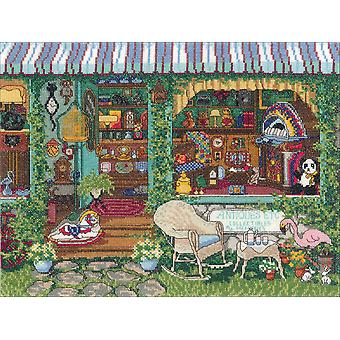 Antiques Counted Cross Stitch Kit-14