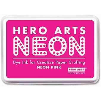 Hero Arts Neon Ink Pad-Pink