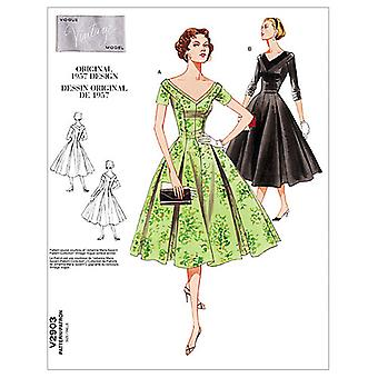 Misses'/Misses' Petite Dress-D (12-14-16) -*SEWING PATTERN*