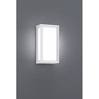 Trio Lighting Timok Modern White Diecast Aluminium Wall Lamp