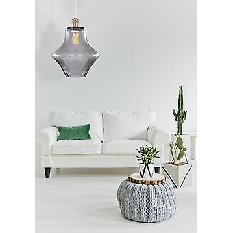 LIVING ROOM GLASS LAMPS HANGING LAMP SCANDI PENDANT MODERN GOLD GLASS, BLACK
