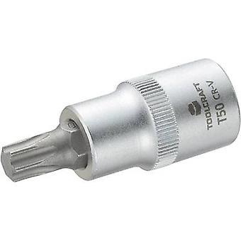 TOOLCRAFT 816168 TORX socket Bit T 50 1/2 (12.5 mm)
