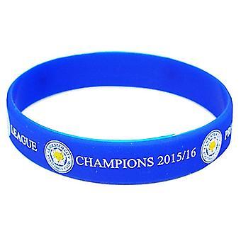 Leicester City Fc Premier League Champions 2016 Silikon Armband