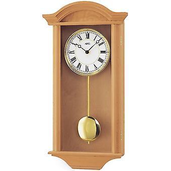 الجدار على مدار الساعة البندول الخشب ساعة الجدار على مدار الساعة مع البندول الكوارتز الخشب الصلب الدر