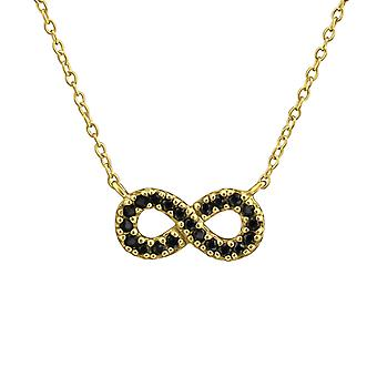 Infinify - 925 Sterling Silver Jewelled Necklaces