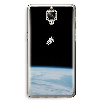 OnePlus 3T Transparent Case (Soft) - Alone in Space