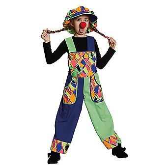 Klovn bib Clownkostüm kostyme for barn