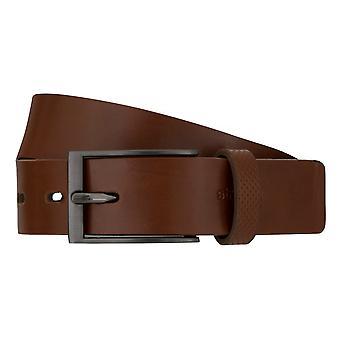 Strellson belts men's belts leather belt Cognac 7547