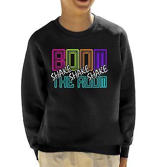 Boom schudden de kamer lyrische DJ Jazzy Jeff verse Prins Kid's Sweatshirt