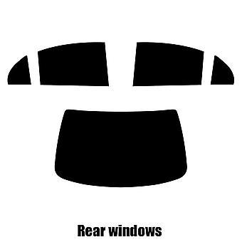 Pre cut fönstret nyans - Daewoo Evenda 4-dörrars sedan - 2006 till 2010 - bakre windows