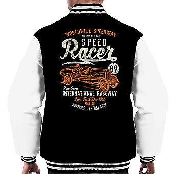 Worldwide Speedway Speedracer Men's Varsity Jacket