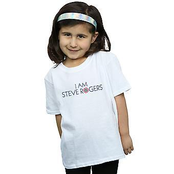 Marvel meisjes Avengers Infinity War ik Am Steve Rogers T-Shirt