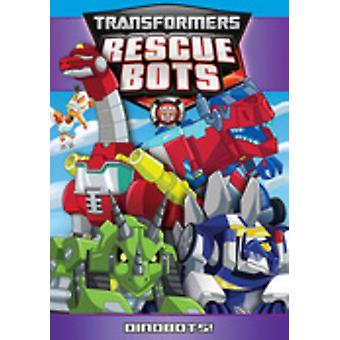 Robôs de resgate de transformadores: Dinobots [DVD] EUA importar