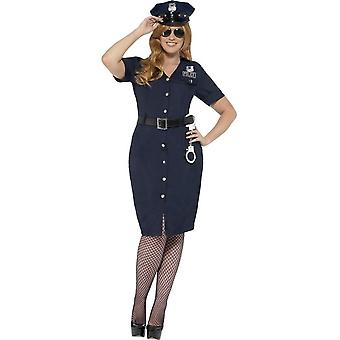 Curves NYC Cop Costume, Large