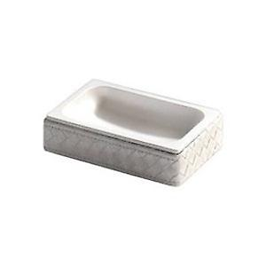 Gedy Marrakech Soap Dish Antique Silver 6711 77