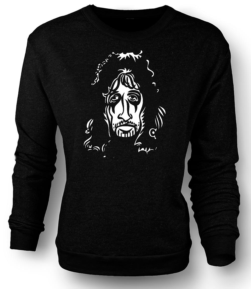 Mens Sweatshirt Alice Cooper Rock - Caricature