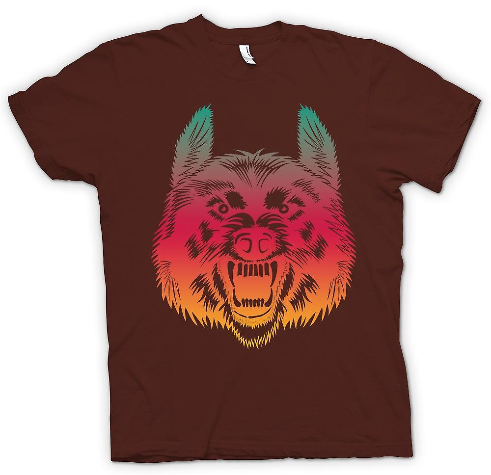 Mens T-shirt - Wanna Join My Wolf Pack - Funny