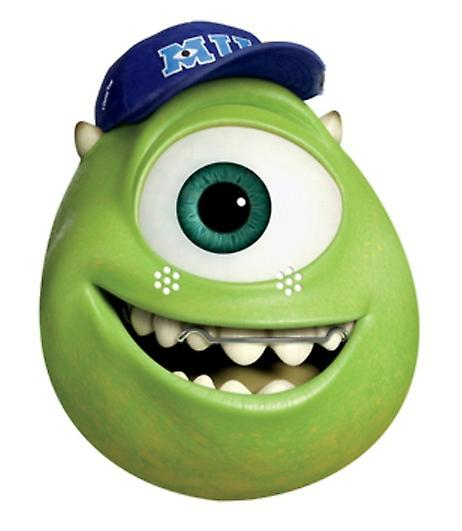 Mike Party Card Face Mask (Monsters University)