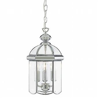 5133CC Chrome 3 Light Lantern
