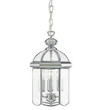 Searchlight 5133CC Chrome 3 Light Lantern
