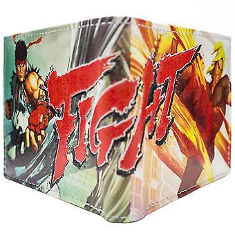 Capcom Street Fighter 5 Ken Ryu ID & Card Bi-Fold Wallet