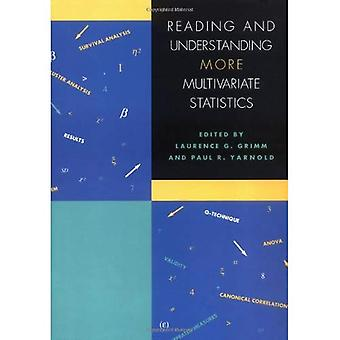 Reading and Understanding MORE Multivariate Statistics