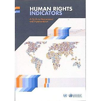 Human Rights Indicators: A Guide to Measurement and Implementation