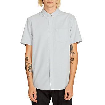 Volcom mannen Shirt ~ Everett Oxford blauw