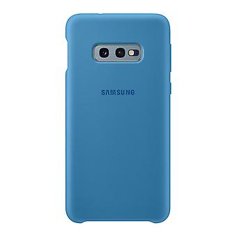 Samsung silicone cover dark blue for Samsung Galaxy S10e G970F EF PG970TLEGWW bag case protective cover