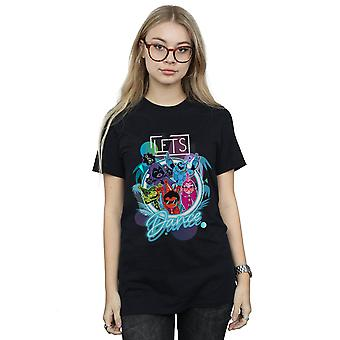 DC Comics Women's Teen Titans gaan Let's Dance Boyfriend Fit T-Shirt