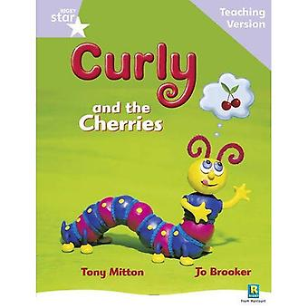 Curly and the Cherries: Llilac Level (Rigby Star Guided)