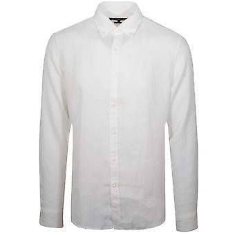 Michael Kors  Michael Kors White Lien Shirt