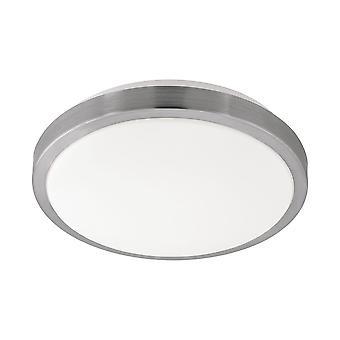 Eglo - Competa 1 LED cetim níquel redondo EG96033 luz de teto