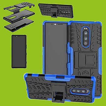 Hybrid case 2 piece SWL robot blue Sony xperia 1 6.5 inch case sleeve cover protection