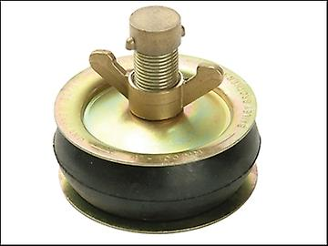 Bailey 2416 Drain Test Plug 100mm (4 in) - Brass Cap