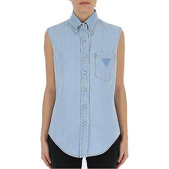 Prada Light Blue Denim Shirt