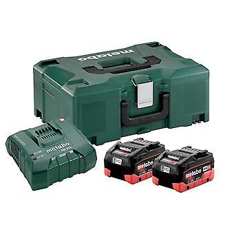 Metabo Basic-Set 2 x LiHD 8.0Ah batterij Kit