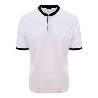 AWDis Just Cool Mens Stand Collar Sports Polo