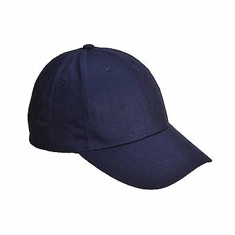 Portwest - seks Panel Baseball Cap Navy vanlig
