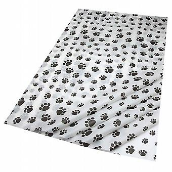 3x Gift Wrap Tissue in Puppy Paws Design - 15 Sheets