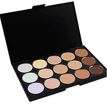 Concealer Professionell Palett 15 färger - Make Up Sweden